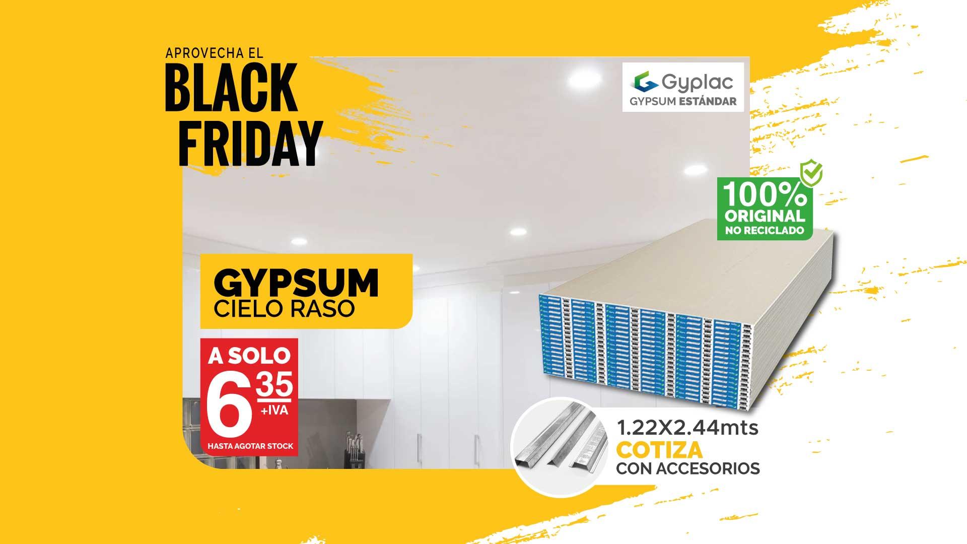 Portada Gypsum Black Friday Immaka